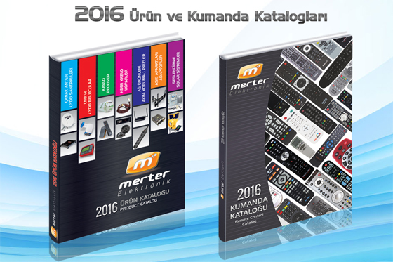Merter Elektronik 2016 Urun ve Kumanda Katalogları