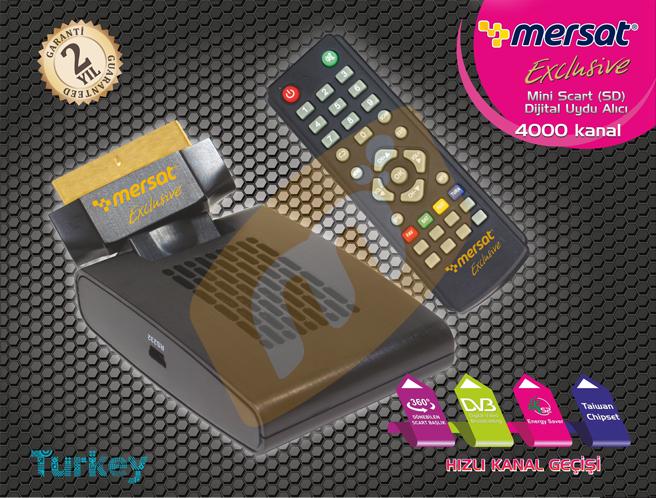 mersat exclusive mini uydu alıcısı