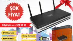 D-Link DSL-2740R Modem Router Türkiye'de İlk!
