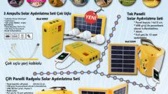 Powermaster Solar Aydınlatma Sistemleri