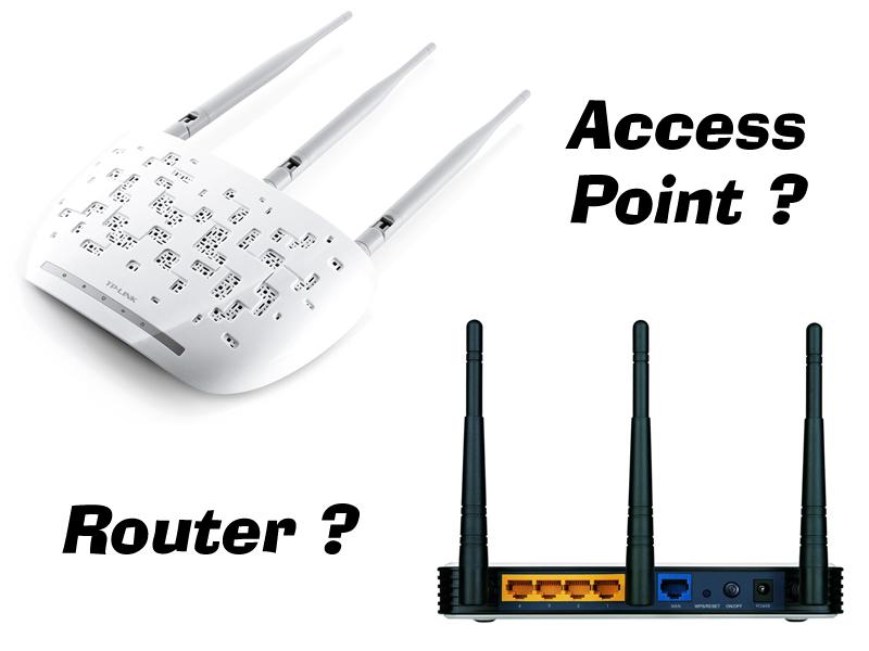 access point router nedir