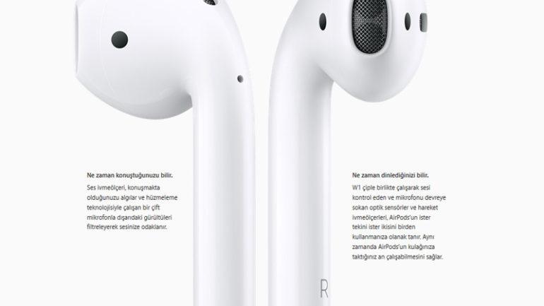 Apple AirPods Kablosuz Kulaklıklarını Tanıttı