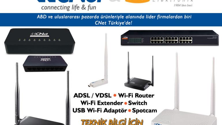 CNet Network Yeniden Türkiye'de!