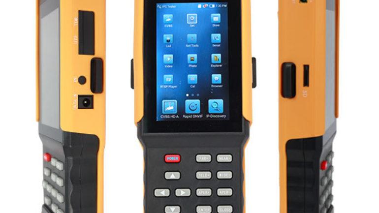 Magbox IP-AHD-Analog CCTV Dokunmatik Kamera Test Cihazı