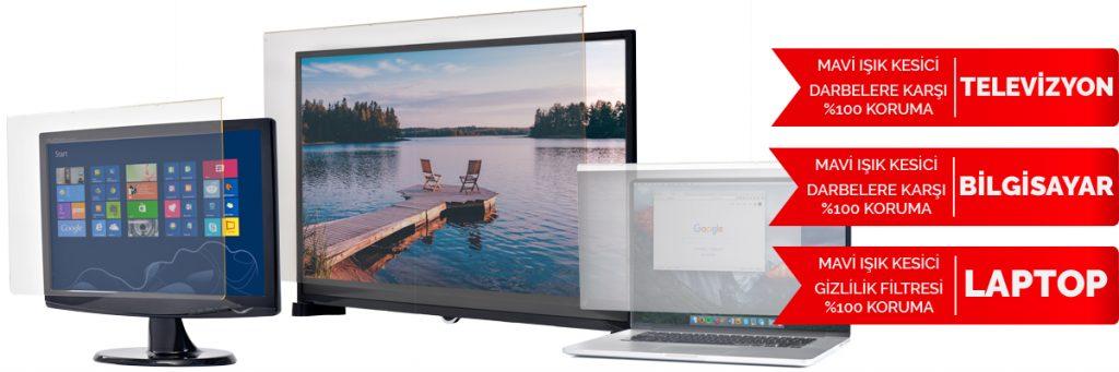 Powermaster mavi ışık filtreli tv ekran koruyucu