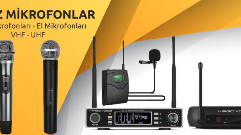 2018 Telsiz Mikrofon Modelleri
