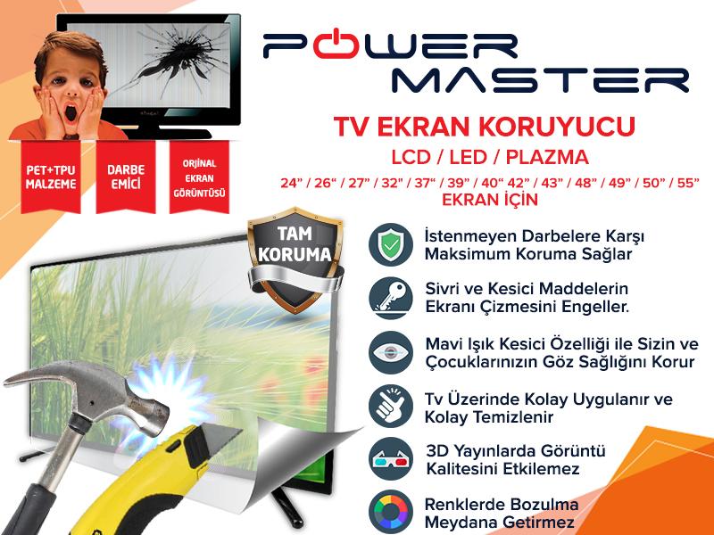 Powermaster Tv Ekran Koruyucu