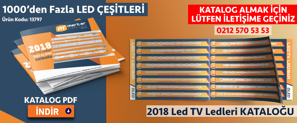Led tv panel ledleri katalog 2018