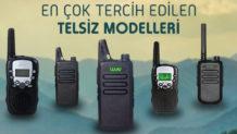 En Çok Tercih Edilen 3 El Telsizi Modeli