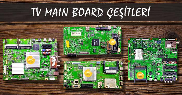 Tv main board çeşitleri