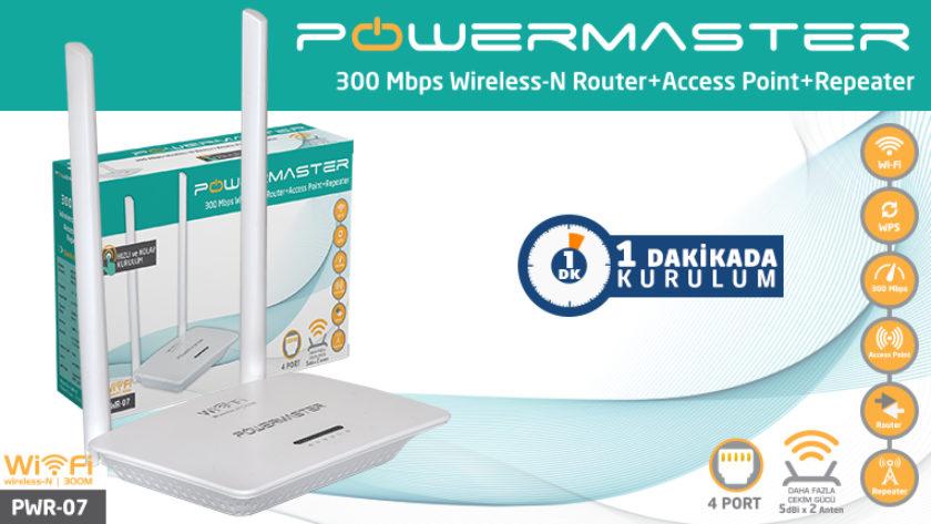 Powermaster PWR-07 Access Point Kurulum (Resimli Anlatım)