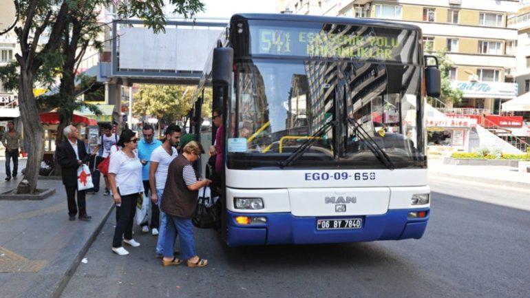 Ankarada kredi kartıyla toplu ulaşım dönemi başlıyor