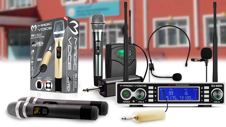 Kablosuz mikrofon çeşitleri