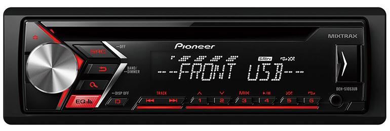 Pioneer DEH-S1053UB Oto Teyp